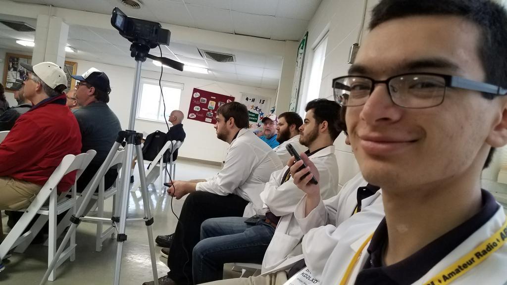 The camera crew!
