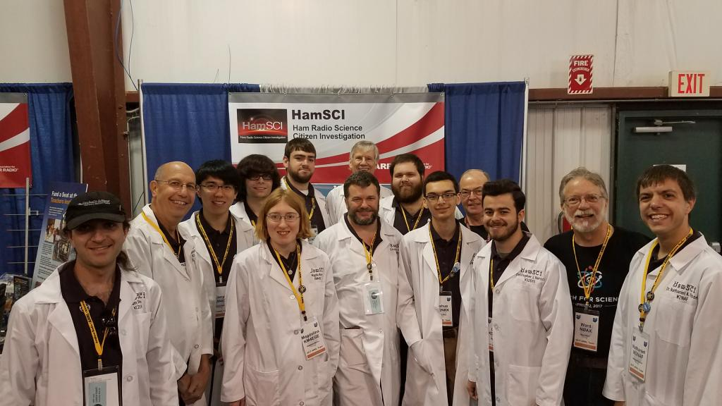 Post-Forum HamSCI Group Photo