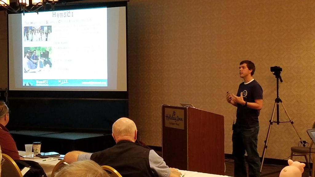 Nathaniel Frissell Presents at the TAPR ARRL DCC