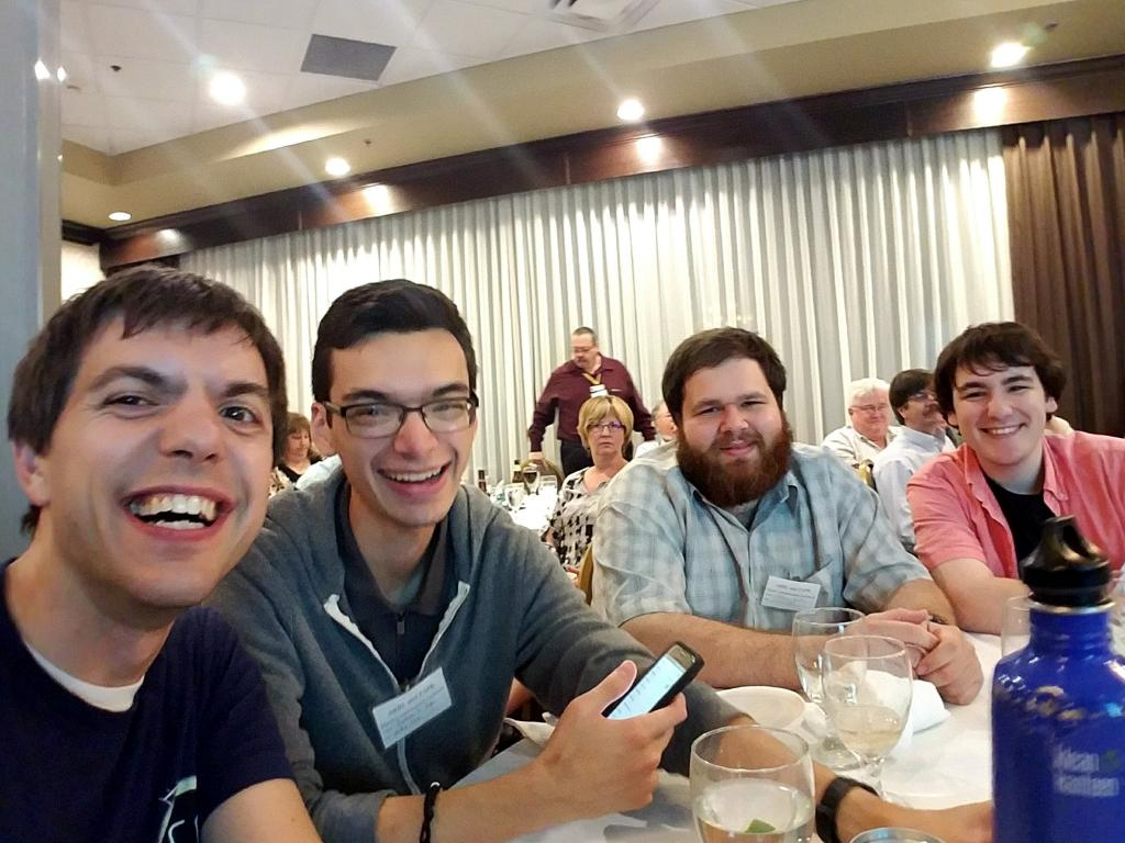 NJIT HamSCI at the TAPR Banquet